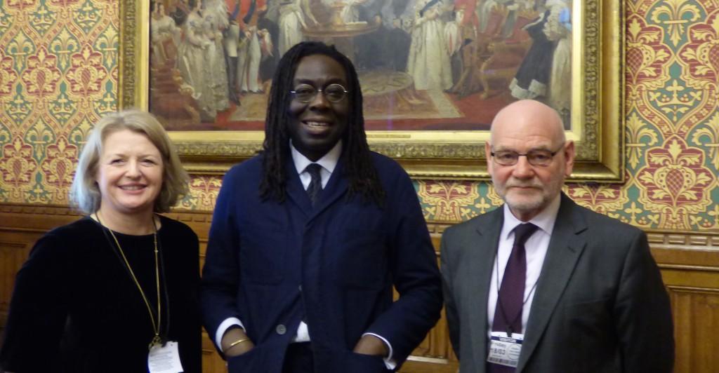 Karen Biggs, Lord Adebowale and Paul Hayes